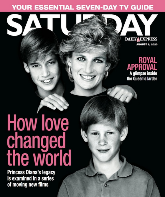 SATURDAY Magazine 08/2020: PRINCESS DIANA COVER FEATURE Prince Harry William