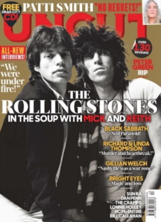 The Rolling Stones Mick Jagger Keith Richards Uncut Magazine October 2020 & Free CD