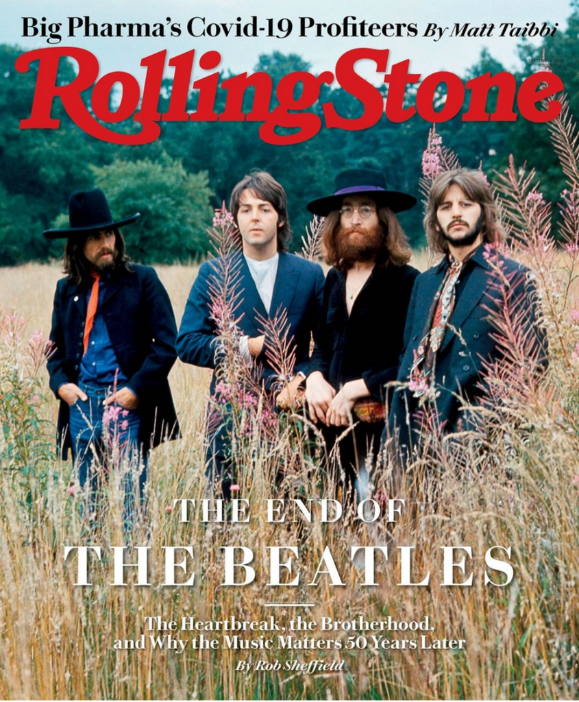Rolling Stone Magazine September 2020: THE BEATLES COVER FEATURE (Pre-Order)