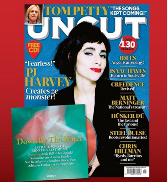 UK Uncut Magazine October 2020: PJ HARVEY Tom Petty IDLES Laura Veirs & Free CD