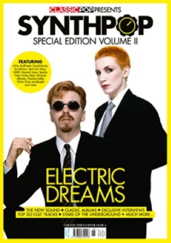 CLASSIC POP PRESENTS magazine October 2020 - EURYTHMICS Annie Lennox SYNTH-POP SPECIAL COVER
