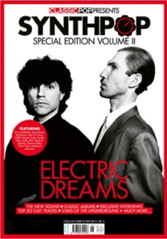 CLASSIC POP PRESENTS magazine October 2020 - SPARKS SYNTH-POP SPECIAL COVER