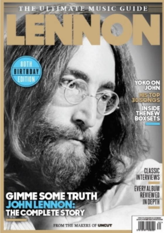 John Lennon – The Beatles The Uncut Ultimate Music Guide Magazine October 2020