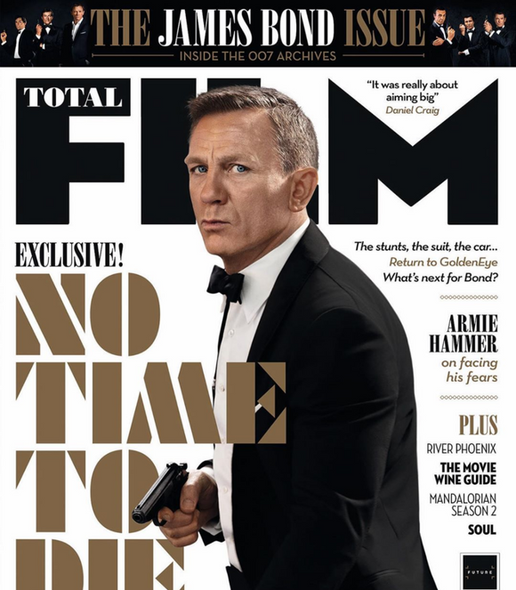 Total Film Magazine November 2020: JAMES BOND - NO TIME TO DIE - DANIEL CRAIG