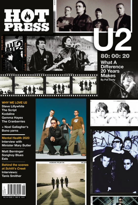 HOT PRESS MAGAZINE 44-11: U2 SPECIAL