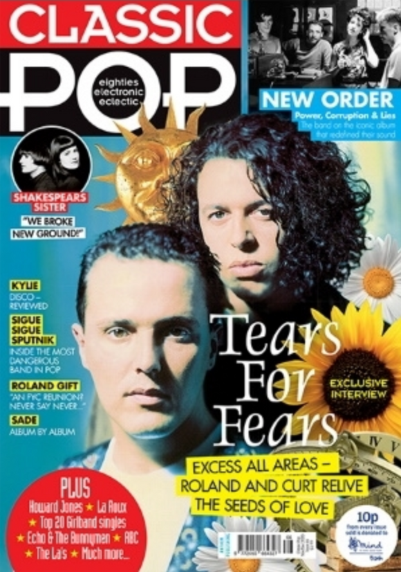 Classic Pop Magazine #66: Nov/Dec 2020 TEARS FOR FEARS Kylie Minogue SADE