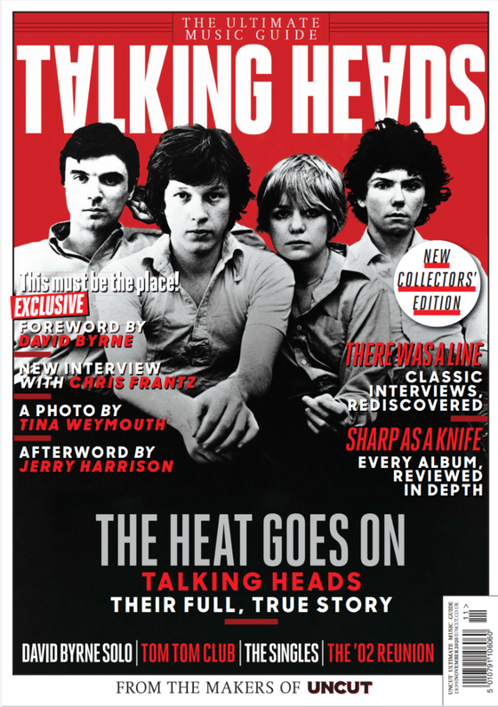 Ultimate Music Guide Magazine November 2020 Talking Heads David Byrne