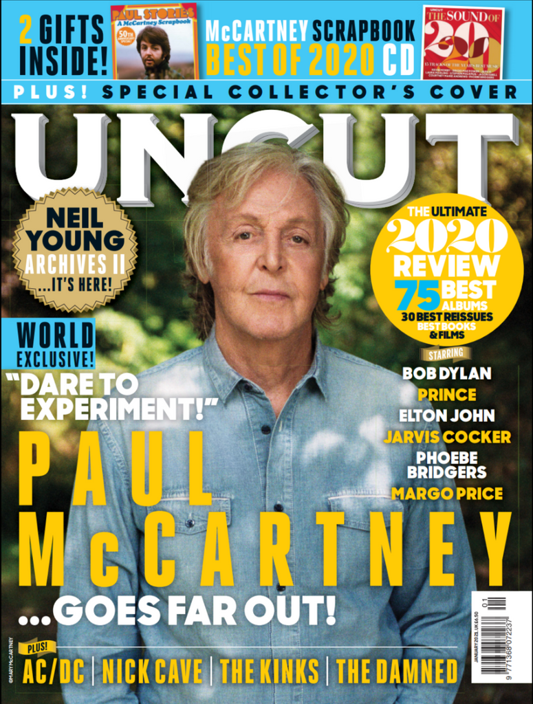 Uncut Magazine Issue 284: January 2021 Paul McCartney & Special Scrapbook