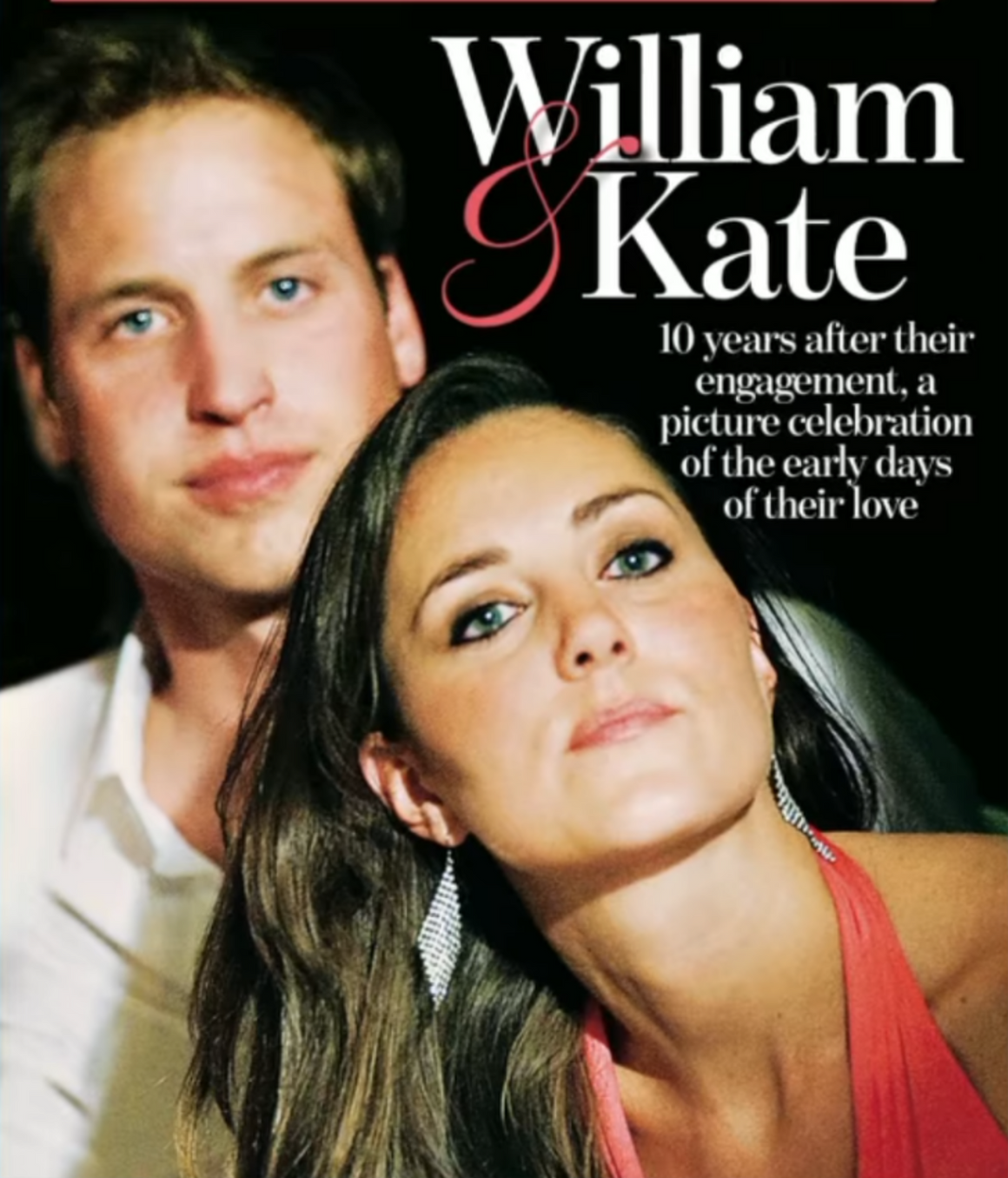 Prince William & Kate Middleton 24 Page Souvenir UK Mail on Sunday Magazine