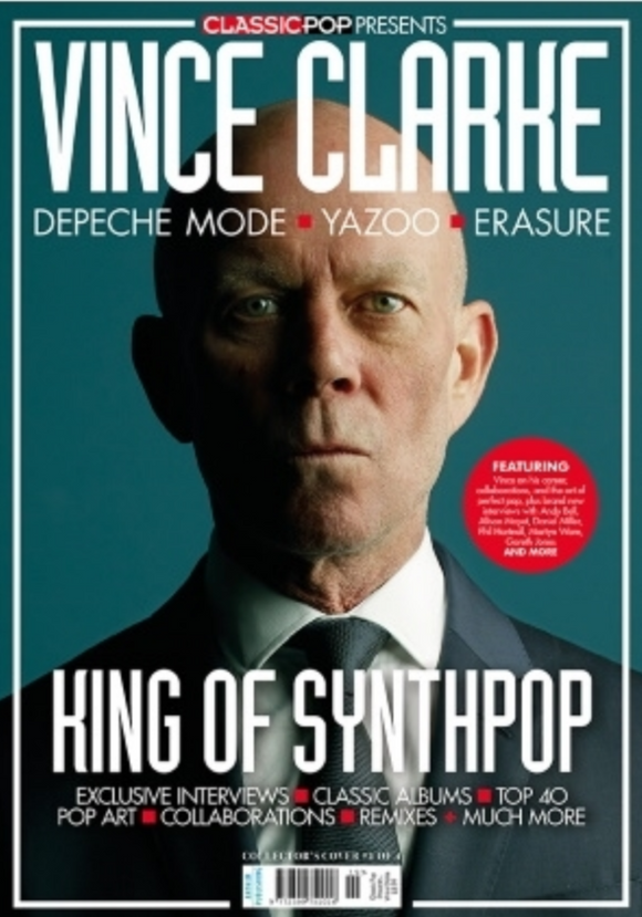 CLASSIC POP PRESENTS magazine November 2020 - VINCE CLARKE SPECIAL COVER