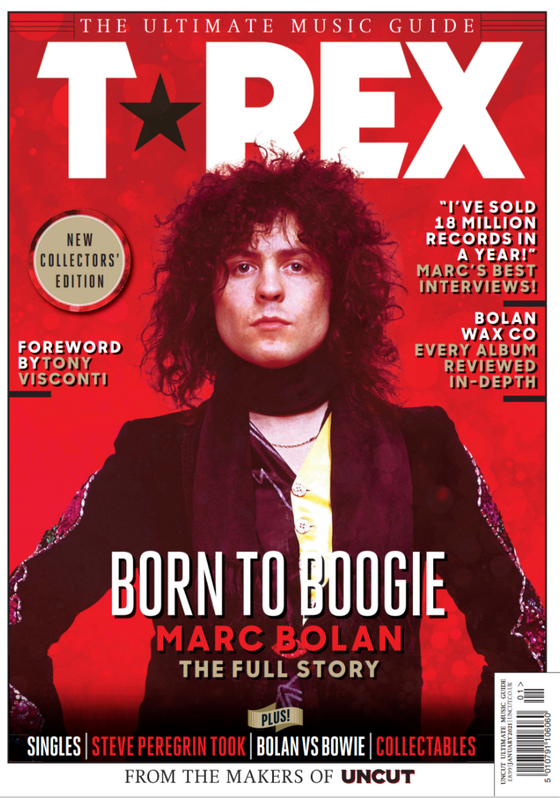 T-REX - MARC BOLAN The Uncut Ultimate Music Guide Magazine January 2021