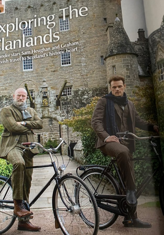 The Scots Magazine February 2021: Sam Heughan Outlander
