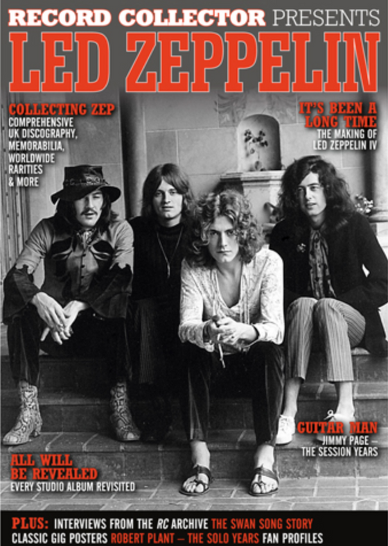 Record Collector Presents… Led Zeppelin Jimmy Page Robert Plant (April 2021)