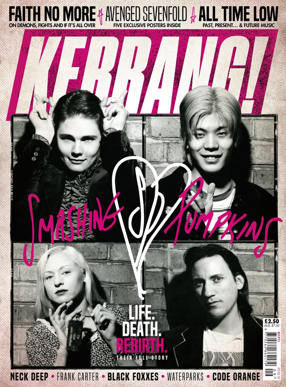 Kerrang! Magazine 3rd March 2018 Smashing Pumpkins Avenged Sevenfold All Time Low