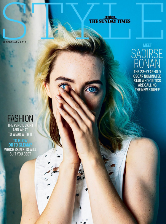 UK STYLE Magazine FEBRUARY 2018: SAOIRSE RONAN COVER & INTERVIEW