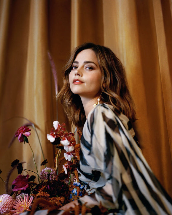 UK Telegraph magazine 19 August 2017 Jenna Coleman Victoria Cover Interview