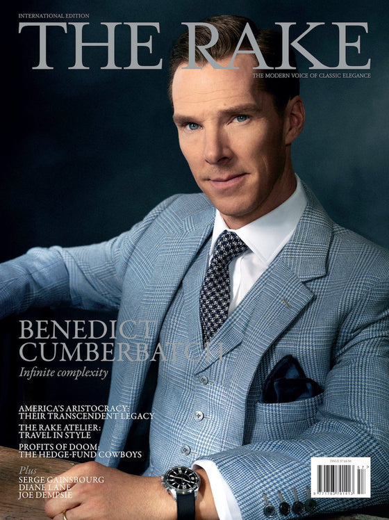 BENEDICT CUMBERBATCH The Rake Magazine April 2018