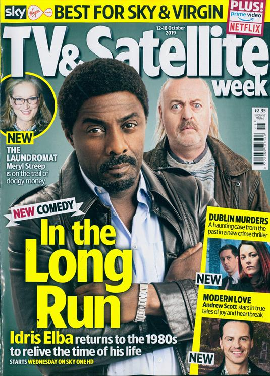 TV & SATELLITE Magazine October 2019: IDRIS ELBA Takehiro Hira RYAN HAWLEY Andrew Scott