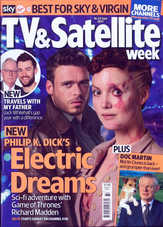 TV & Satellite magazine Sept 2017 Richard Madden Holliday Grainger Martin Clunes