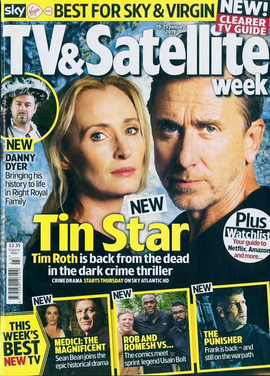 TV & Satellite Magazine JAN 2019: TIM ROTH COVER STORY ## SEAN BEAN JON BERTHNAL