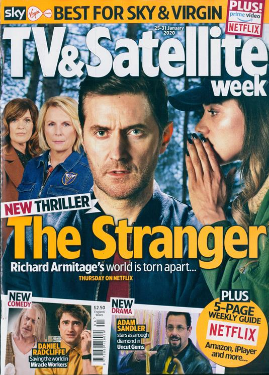 TV & Satellite Magazine 25th January 2020: Richard Armitage Cover