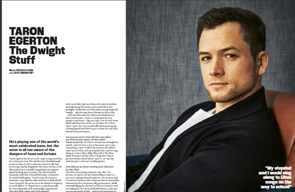 UK Red Bulletin Magazine June 2019: Taron Egerton Elton John (Rocketman)