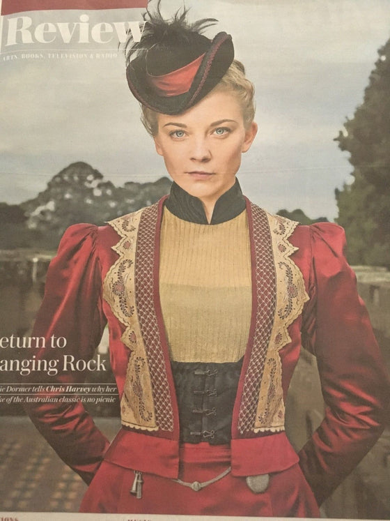 UK Telegraph Review July 2018: NATALIE DORMER The Beatles YELLOW SUBMARINE