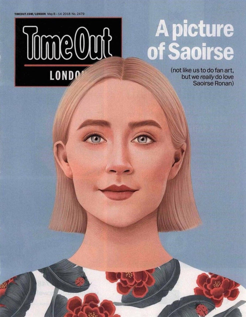 Time Out London Magazine May 2017: SAOIRSE RONAN Cover Interview