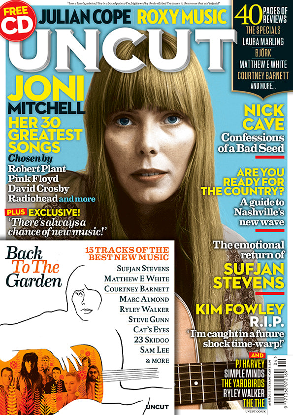 UK Uncut Magazine April 2015 Joni Mitchell Cover Story - Her 30 Greatest Songs