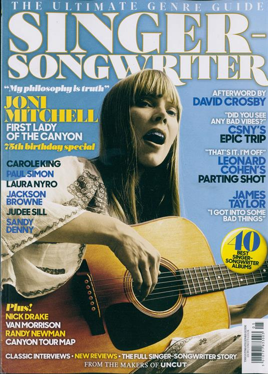 Singer-Songwriter - Ultimate Genre Guide - Joni Mitchell Carole King Paul Simon