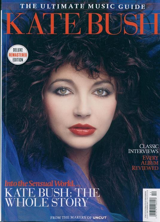 KATE BUSH - THE UNCUT ULTIMATE MUSIC GUIDE - DELUXE REMASTERED EDITION...NEW