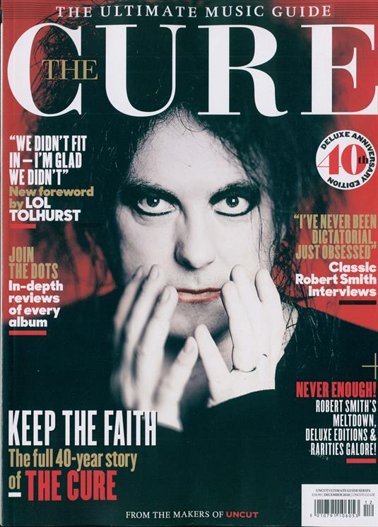 Uncut Ultimate Gde Series Magazine 2018 Robert Smith The Cure Special Issue