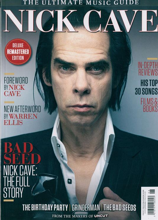 UK UNCUT Magazine JUNE 2018: NICK CAVE - The Ultimate Music Guide