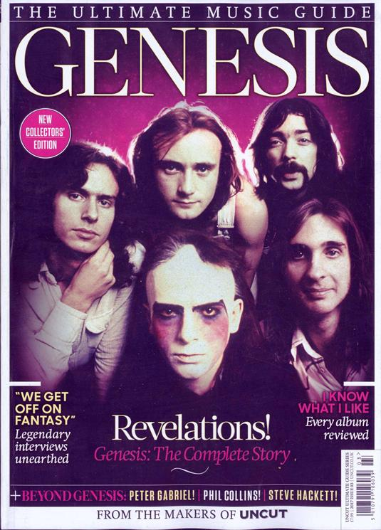 Genesis Uncut Ultimate Music Guide Collectors Edition UK MAGAZINE 2017 NEW
