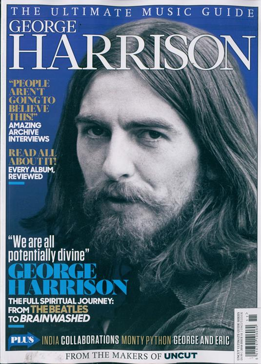 George Harrison The Beatles Uncut Ultimate Guide Collectors Edition UK MAGAZINE