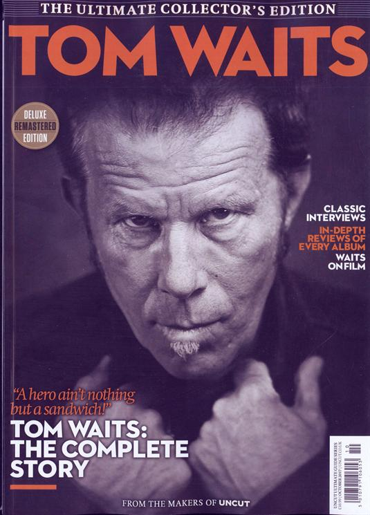 Uncut Ultimate Guide Tom Waits cover