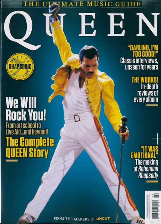 Queen Freddie Mercury Uncut Ultimate Music Guide Collectors Edition UK MAGAZINE 2018 NEW