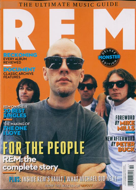 UK UNCUT Magazine October 2019: REM ULTIMATE MUSIC GUIDE DELUXE EDITION