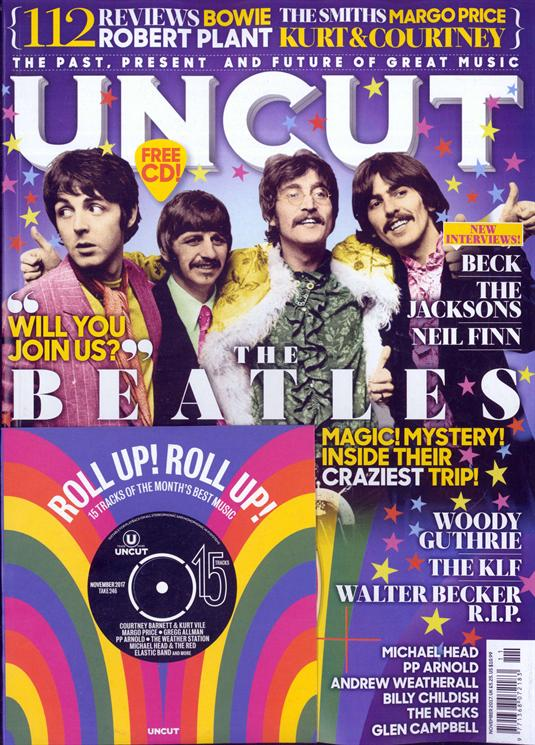 Uncut Magazine The Beatles cover