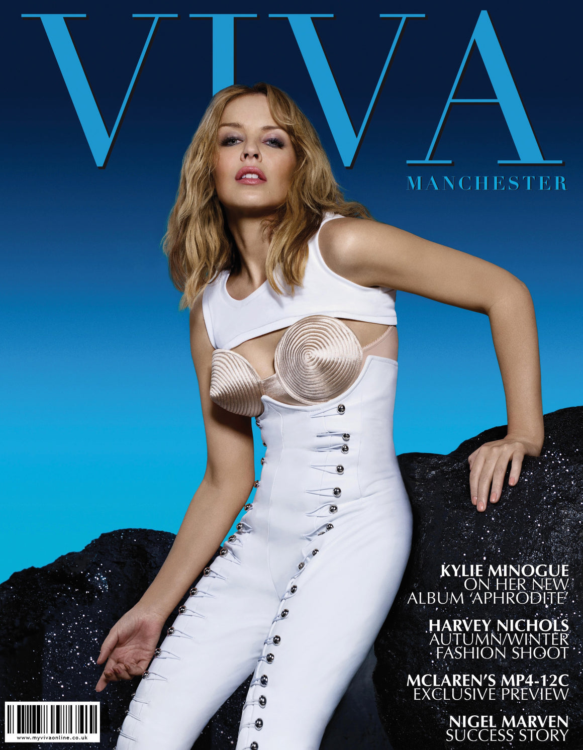 VIVA MANCHESTER & CHESHIRE SUMMER 2010 (issue 2) KYLIE MINOGUE