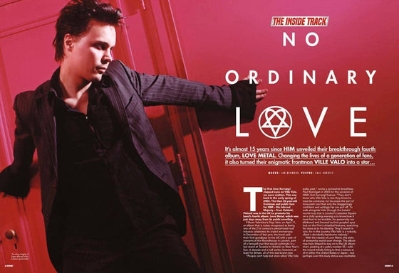 Kerrang! Magazine 24th March 2018 Ville Valo Him Panic At This Disco Fall Out Boy