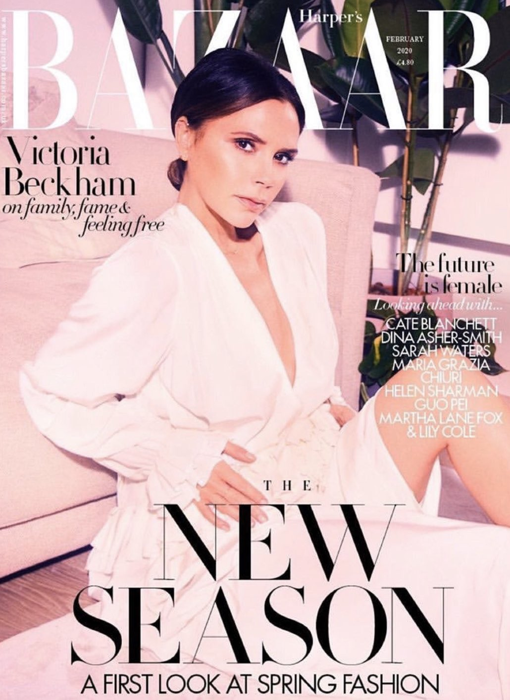 VICTORIA BECKHAM - HARPER'S BAZAAR MAGAZINE UK FEBRUARY 2020 BRITISH EDITION NEW