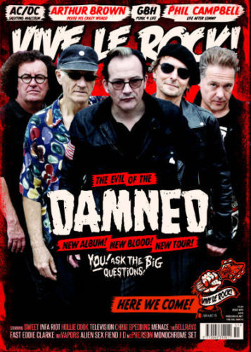 UK Vive Le Rock Magazine FEB 2018: THE DAMNED Motorhead AC/DC Malcolm Young