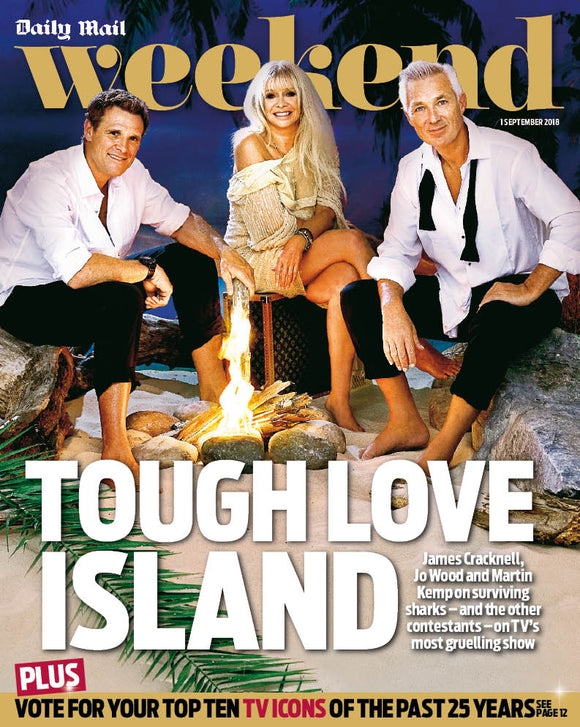 UK Daily Mail Weekend Magazine September 2018: Martin Kemp Jo Wood Matthew Goode