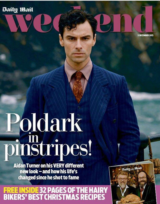 WEEKEND Magazine 12/2015 Poldark AIDAN TURNER SIMON LE BON PHILIP GLENISTER