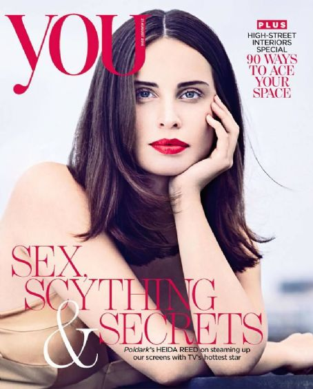 Heida Reed on the cover of You Magazine