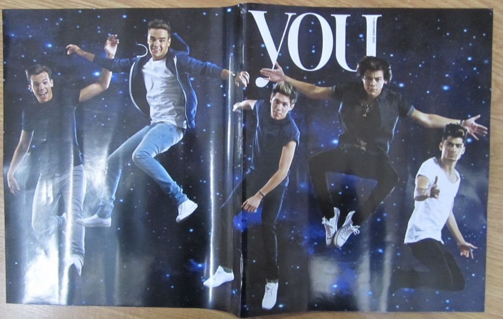 You Magazine November 2012 One Direction Cover and Exclusive Interview Harry Styles