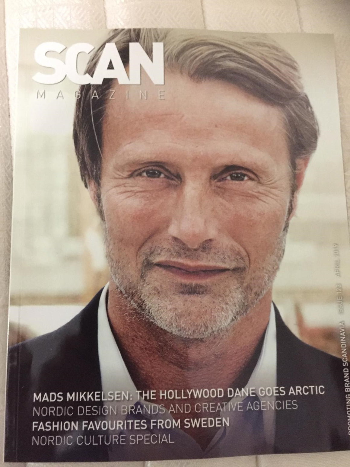 Scan Magazine April 2019: MADS MIKKELSEN COVER AND FEATURE