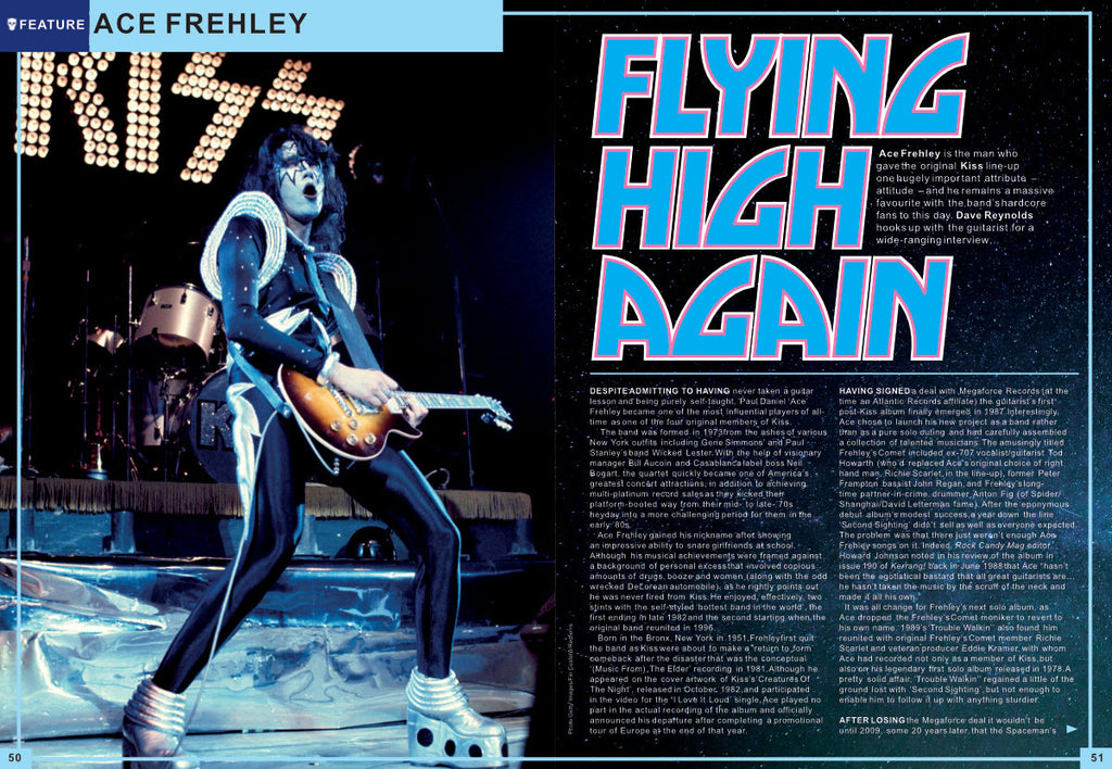 ROCK CANDY Magazine October-November 2019: Kiss (Ace Frehley) Def Leppard