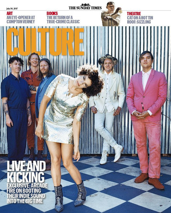 UK Culture magazine 30 July 2017 Arcade Fire Ciaran Hinds Ben Whishaw